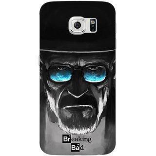 Jugaaduu Breaking Bad Heisenberg Back Cover Case For Samsung S6 Edge - J600426