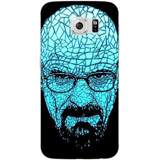 Jugaaduu Breaking Bad Heisenberg Back Cover Case For Samsung S6 Edge - J600428