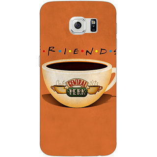 Jugaaduu FRIENDS Back Cover Case For Samsung S6 Edge - J600444