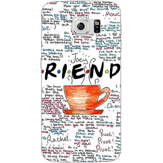 Jugaaduu FRIENDS Back Cover Case For Samsung S6 Edge - J600451