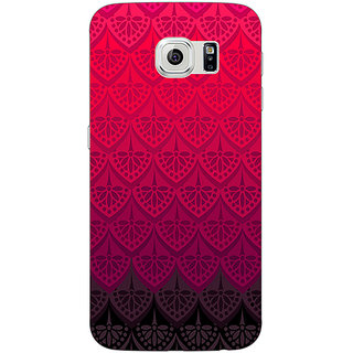 Jugaaduu Shades Of Pink Back Cover Case For Samsung S6 Edge - J600768