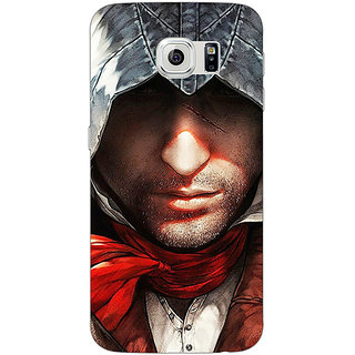 Jugaaduu Assassins Creed Back Cover Case For Samsung S6 Edge - J600842