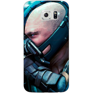 Jugaaduu Super Heroes Batman Bane Back Cover Case For Samsung S6 Edge - J600846