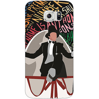 Jugaaduu Bollywood Superstar Anthony Gonsalves Back Cover Case For Samsung S6 Edge - J601117
