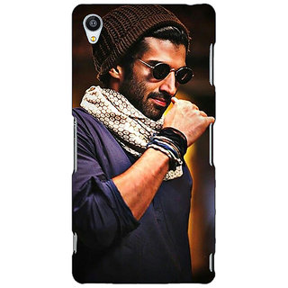 Jugaaduu Bollywood Superstar Aditya Roy Kapoor Back Cover Case For Sony Xperia M4 - J610912