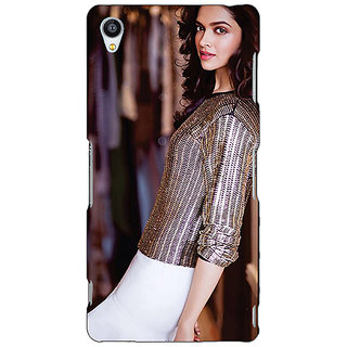 Jugaaduu Bollywood Superstar Deepika Padukone Back Cover Case For Sony Xperia M4 - J611053