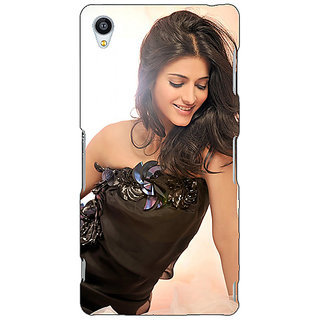 Jugaaduu Bollywood Superstar Shruti Hassan Back Cover Case For Sony Xperia M4 - J611066