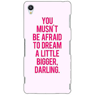 Jugaaduu Quotes Back Cover Case For Sony Xperia Z4 - J581197