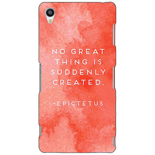 Jugaaduu Quotes Back Cover Case For Sony Xperia Z4 - J581200