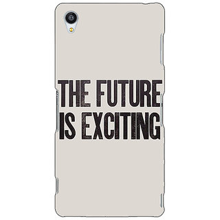 Jugaaduu Future Quote Back Cover Case For Sony Xperia Z4 - J581205