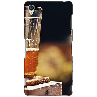 Jugaaduu Beer Candid Back Cover Case For Sony Xperia Z4 - J581207