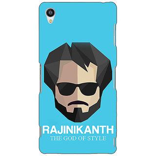 Jugaaduu Rajni Rajanikant Back Cover Case For Sony Xperia M4 - J611483