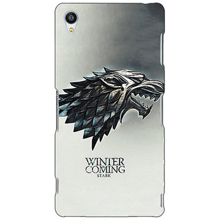 Jugaaduu Game Of Thrones GOT House Stark Back Cover Case For Sony Xperia Z4 - J581554
