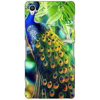 Jugaaduu Paisley Beautiful Peacock Back Cover Case For Sony Xperia Z4 - J581578