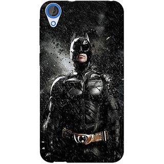 Jugaaduu Superheroes Batman Dark knight Back Cover Case For HTC Desire 826 - J590016
