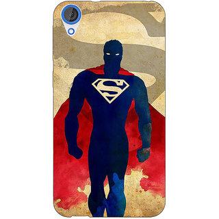 Jugaaduu Superheroes Superman Back Cover Case For HTC Desire 826 - J590040