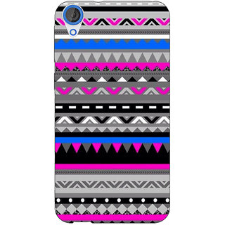 Jugaaduu Aztec Girly Tribal Back Cover Case For HTC Desire 826 - J590059