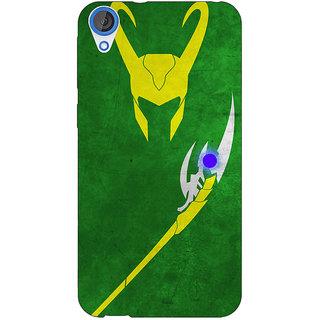 Jugaaduu Superheroes Loki Back Cover Case For HTC Desire 826 - J590341