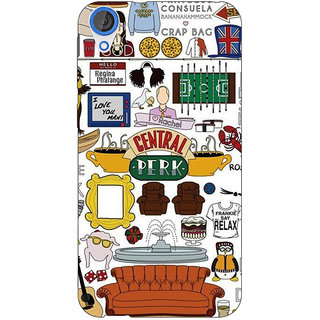 Jugaaduu TV Series FRIENDS Back Cover Case For HTC Desire 826 - J590342