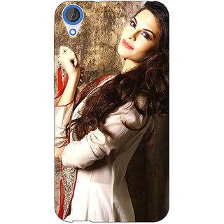 Jugaaduu Bollywood Superstar Jacqueline Fernandez Back Cover Case For HTC Desire 826 - J591044