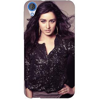 Jugaaduu Bollywood Superstar Shraddha Kapoor Back Cover Case For HTC Desire 826 - J591064