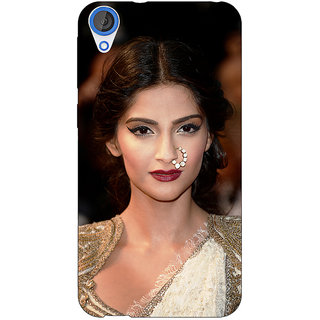 Jugaaduu Bollywood Superstar Sonam Kapoor Back Cover Case For HTC Desire 826 - J591069