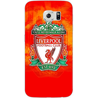 Jugaaduu Liverpool Back Cover Case For Samsung S6 Edge - J600547