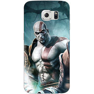Jugaaduu God of War Back Cover Case For Samsung S6 Edge - J600876