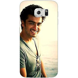 Jugaaduu Bollywood Superstar Arjun Kapoor Back Cover Case For Samsung S6 Edge - J600938