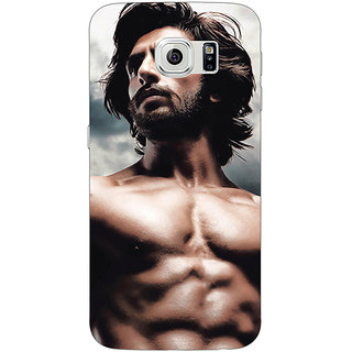 Jugaaduu Bollywood Superstar Ranveer Singh Back Cover Case For Samsung S6 Edge - J600950