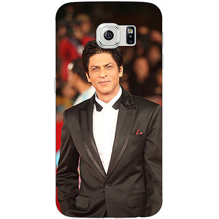 Jugaaduu Bollywood Superstar Shahrukh Khan Back Cover Case For Samsung S6 Edge - J600960