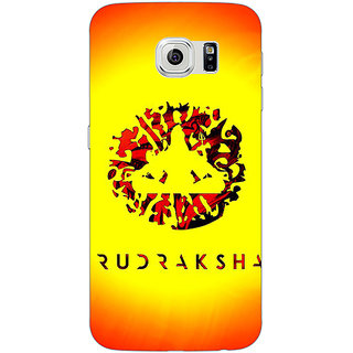 Jugaaduu Rudraksha Back Cover Case For Samsung S6 Edge - J601264