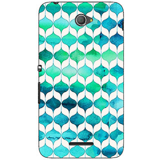 Jugaaduu Dream Patterns Back Cover Case For Sony Xperia E4 - J620252
