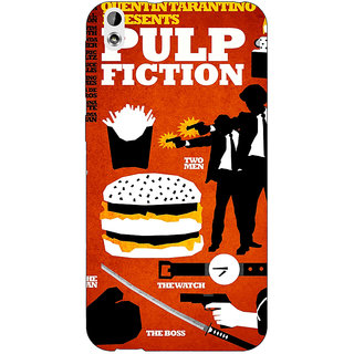 Jugaaduu Pulp Fiction Back Cover Case For HTC Desire 816 - J1050355