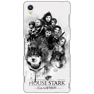 Jugaaduu Game Of Thrones GOT House Stark Back Cover Case For Sony Xperia M4 - J611541