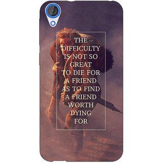 Jugaaduu LOTR Hobbit  Back Cover Case For HTC Desire 826 - J590367