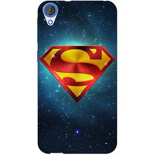 Jugaaduu Superheroes Superman Back Cover Case For HTC Desire 826 - J590383