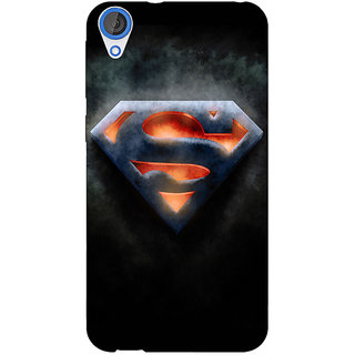 Jugaaduu Superheroes Superman Back Cover Case For HTC Desire 826 - J590386