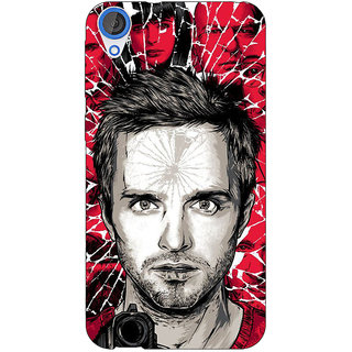Jugaaduu Breaking Bad Back Cover Case For HTC Desire 826 - J590425