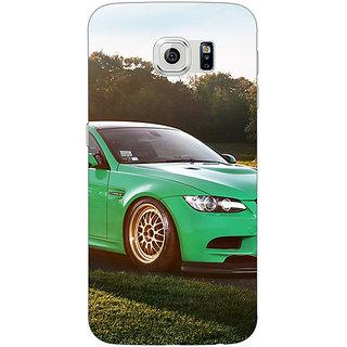 Jugaaduu Super Car BMW Back Cover Case For Samsung S6 Edge - J600634