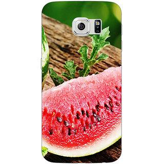 Jugaaduu Watermelon Back Cover Case For Samsung S6 Edge - J600690
