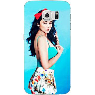 Jugaaduu Bollywood Superstar Parineeti Chopra Back Cover Case For Samsung S6 Edge - J600977