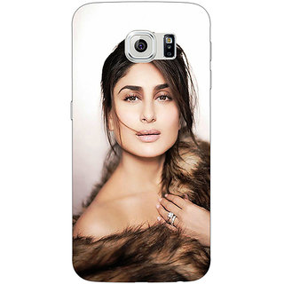 Jugaaduu Bollywood Superstar Kareena Kapoor Back Cover Case For Samsung S6 Edge - J601045