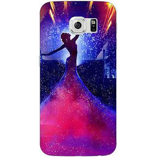 Jugaaduu Bollywood Superstar Deepika Padukone Back Cover Case For Samsung S6 Edge - J601060