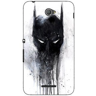Jugaaduu Superheroes Batman Dark knight Back Cover Case For Sony Xperia E4 - J620019