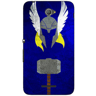 Jugaaduu Superheroes Thor Back Cover Case For Sony Xperia E4 - J620338