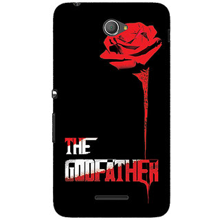 Jugaaduu The Godfather Back Cover Case For Sony Xperia E4 - J620347