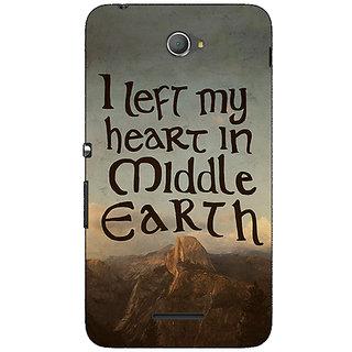 Jugaaduu LOTR Hobbit  Back Cover Case For Sony Xperia E4 - J620377