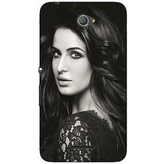 Jugaaduu Bollywood Superstar Katrina Kaif Back Cover Case For Sony Xperia E4 - J621005