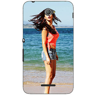 Jugaaduu Bollywood Superstar Shruti Hassan Back Cover Case For Sony Xperia E4 - J621013